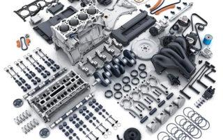 todas las piezas de motor de coche