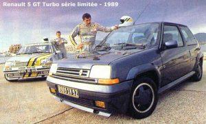 Edición limitade del Renault Súper 5 GT Turbo. Automecánica Castillo