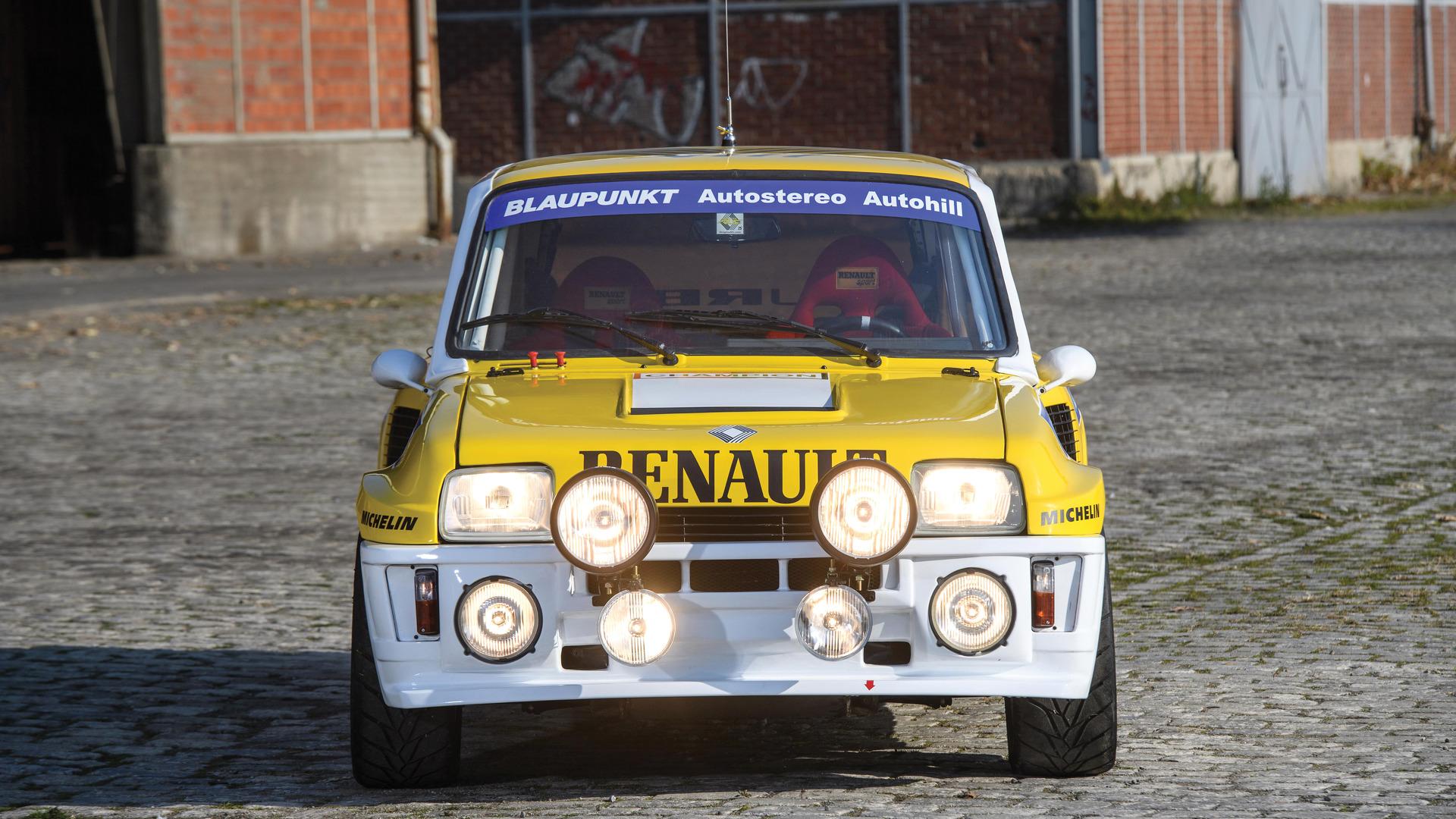 Foto de un Renault 5 Turbo completamente restaurado