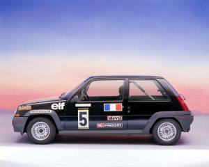 Imágen promocional del Renault Súper 5 GT Turbo