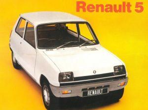 Renault 5 Imagen promocional 1980